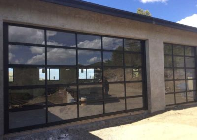 Collins Garage Door with see through glass