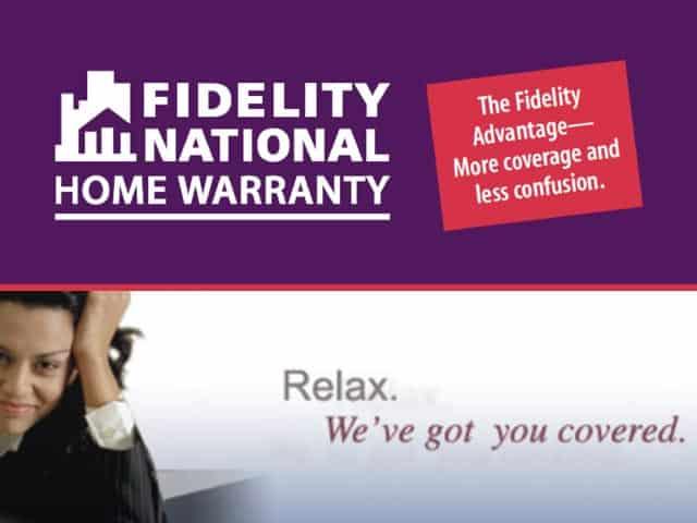 Fidelity Home Warranty Garage Door